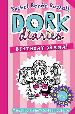 Dork Diaries 13 cover: Birthday Drama