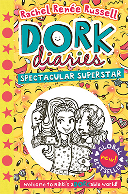 Dork Diaries 14 cover: Spectacular Superstar